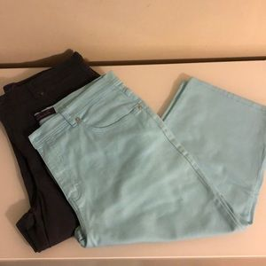 Gloria Vanderbilt Capri Jeans
